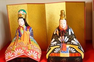 津屋崎人形 明治時代の型ひな人形