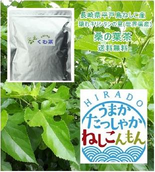 桑の葉茶(くわ茶)80g(コップ135杯分)/  1580円無農薬(送料無料)-